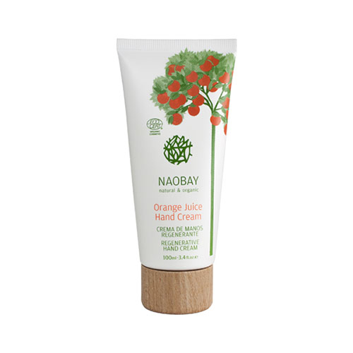 00228-ECOCERT ORANGE JUICE HAND CREAM 100ML